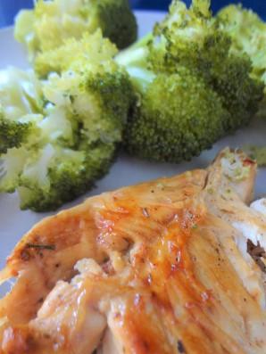 pollo y brocoli