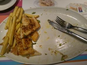 sandwich fin